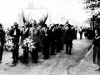 Parade forms up at Ironville 1920s