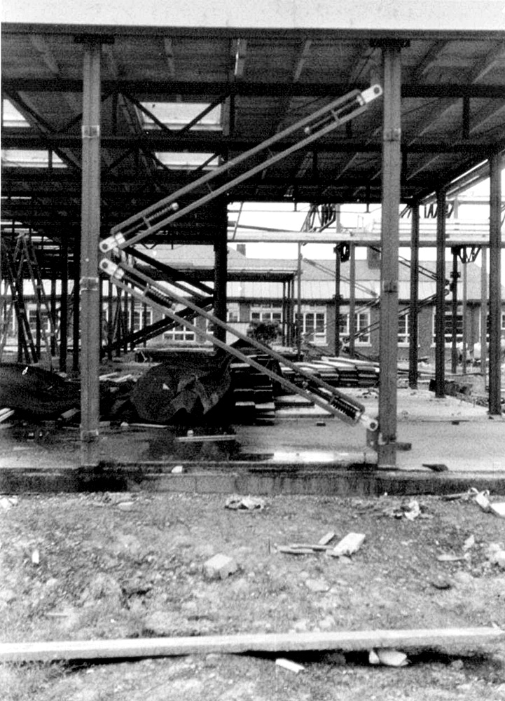 1958 Building New Extension