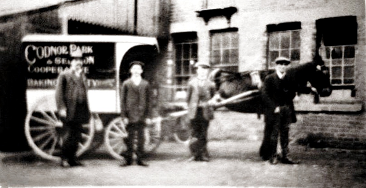 The Dixie Street Bakery horse drawn delivery van