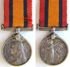 Queen's South Africa Medal (No Clasps)