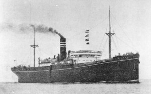 SS Lisbon Maru (Courtesy Wikipedia - Public Domain)